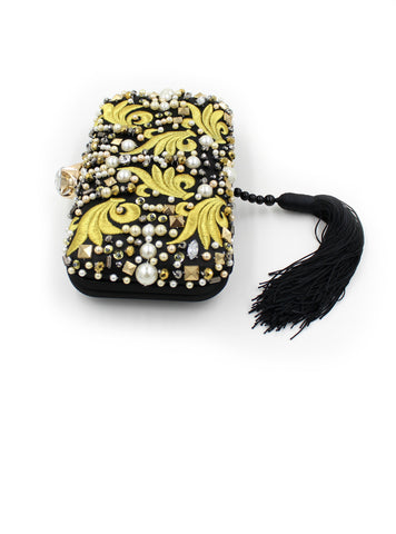 Women Party Bag Handbags Beaded Embroidery Tassel Bags