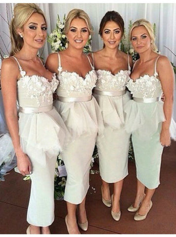 2017 Cheap bridesmaid dresses Customized Mermaid Sleeveless