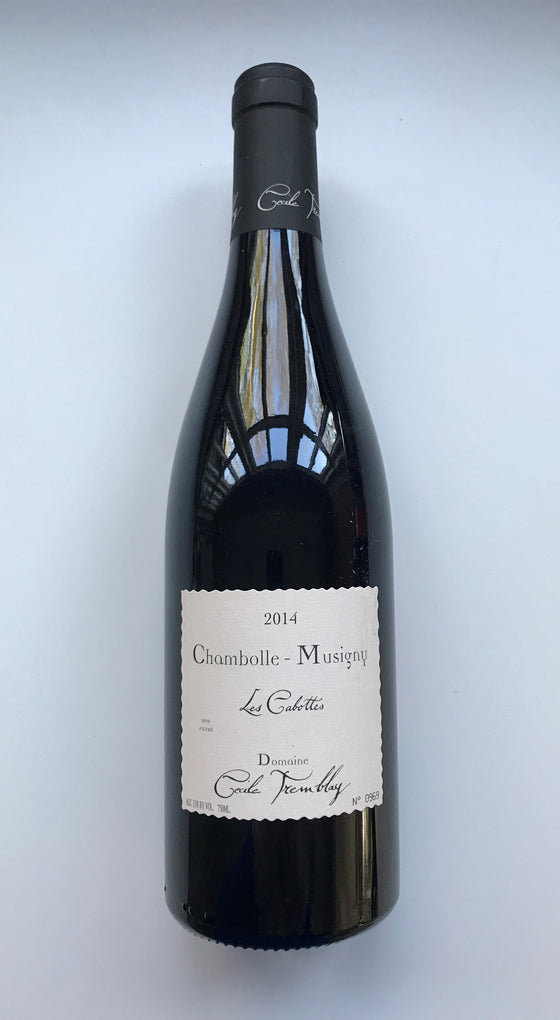 Domain Cecile Tremblay, Chambolle-Musigny, Les Cabottes 2013