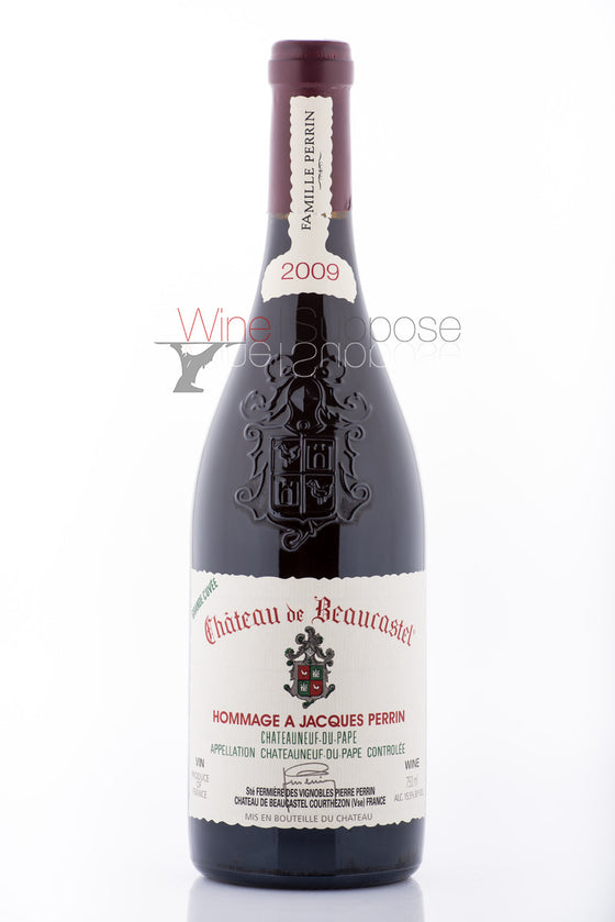 Chateau Beaucastel Chateauneuf du Pape Hommage A Jacques Perrin 2009