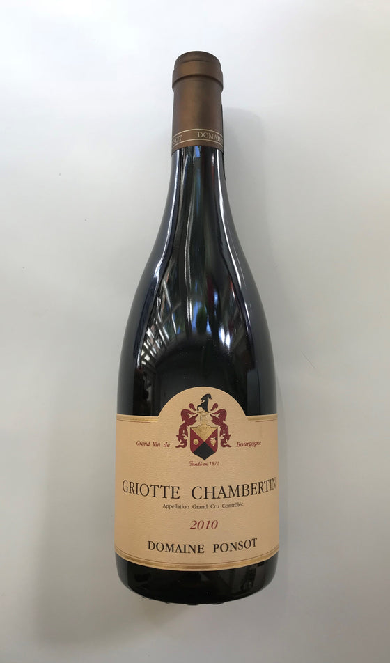 Domaine Ponsot, Griotte-Chambertin 2010