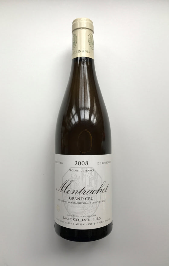 Marc Colin, Le Montrachet 2008 Grand Cru