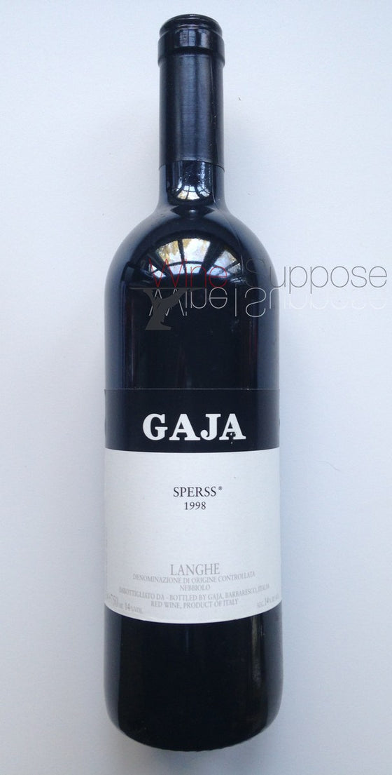 Angelo Gaja, Sperrs 2009