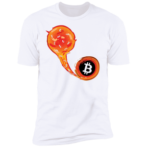 Bitcoin T shirt X-Small Bitcoin Black Hole T-Shirt