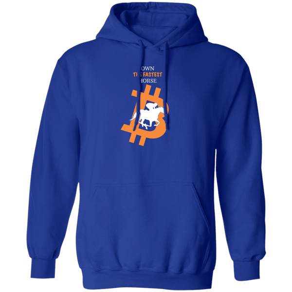 Bitcoin Hoodie Royal / S Own The Fastest Horse Hoodie