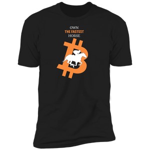 Bitcoin T shirt Black / X-Small Own The Fastest Horse T-Shirt