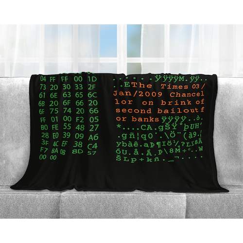 Bitcoin Blanket Bitcoin Merchandise Bitcoin Apparel Bitcoin Clothing
