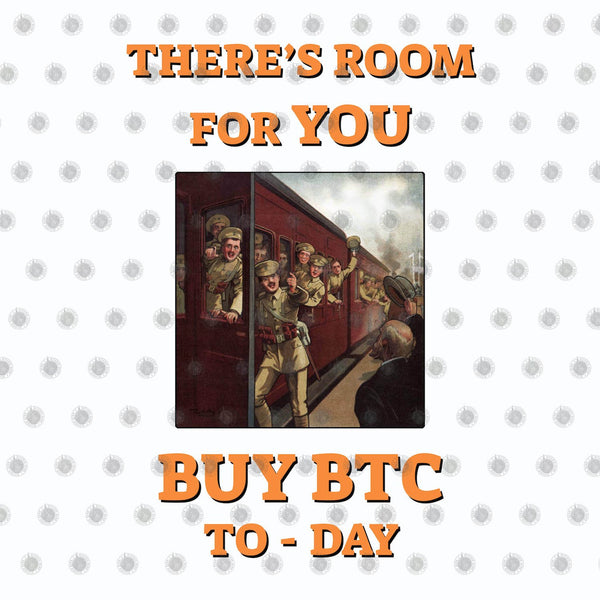 Bitcoin T shirt There's Room For You T-Shirt