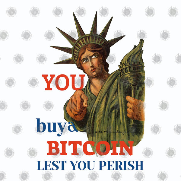 Bitcoin T shirt Statue Of Liberty T-Shirt