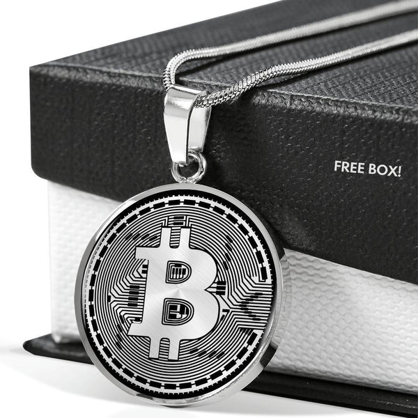 Jewelry BTC Coin Necklace