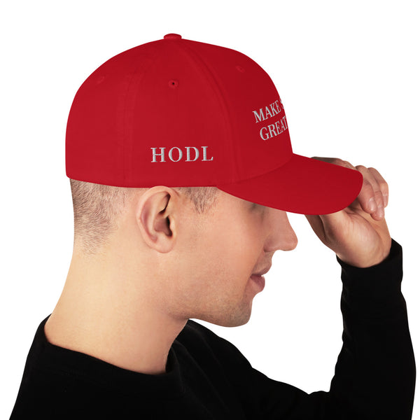 Make Saving Great Again Bitcoin Hat⎜Bitcoin Cap