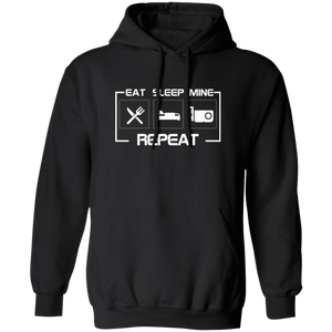 Sweatshirts Black / S East Sleep Mine Repeat Hoodie