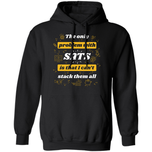 Bitcoin Hoodie Black / S Stack All Sats Hoodie