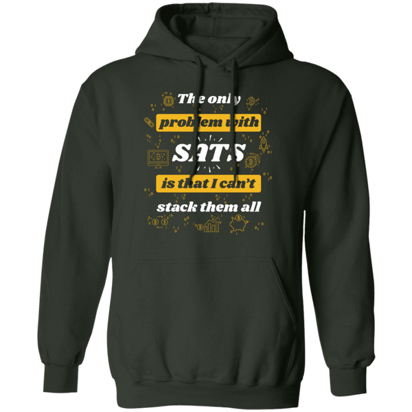Sweatshirts Forest Green / S Stack All Sats Hoodie