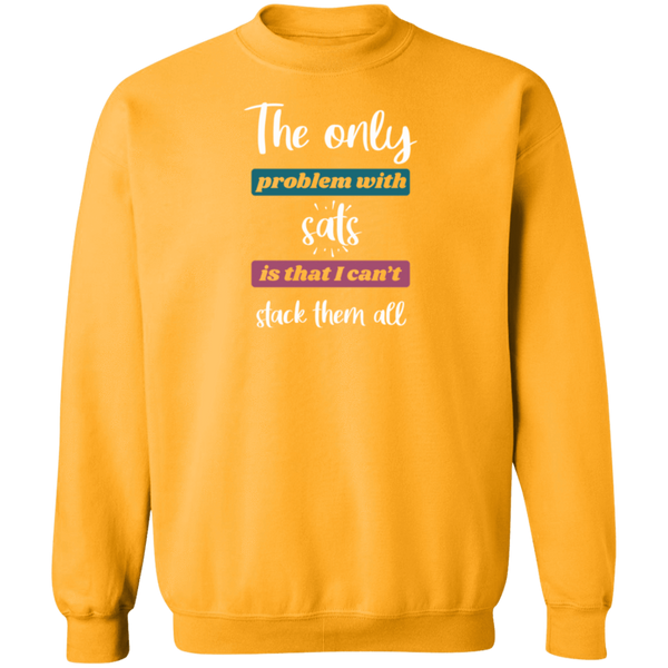 Sweatshirts Gold / S Stack All Sats Sweatshirt