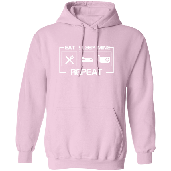 Sweatshirts Light Pink / S East Sleep Mine Repeat Hoodie