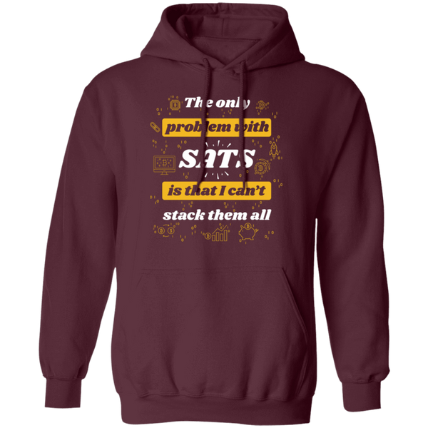 Bitcoin Hoodie Maroon / S Stack All Sats Hoodie