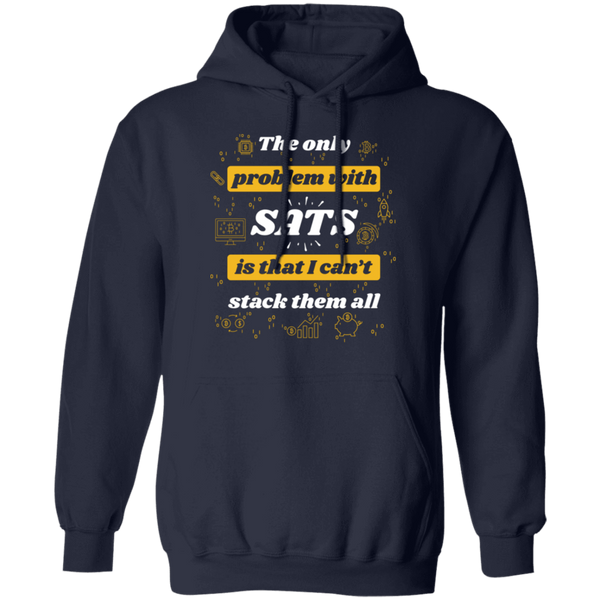 Bitcoin Hoodie Navy / S Stack All Sats Hoodie