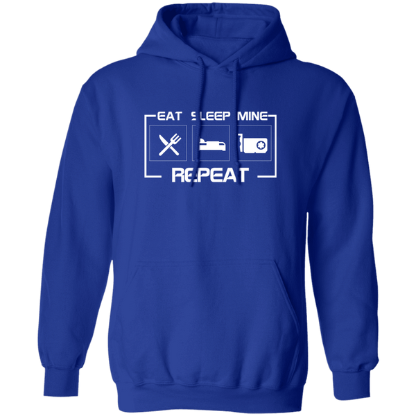 Sweatshirts Royal / S East Sleep Mine Repeat Hoodie