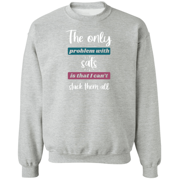 Sweatshirts Sport Grey / S Stack All Sats Sweatshirt