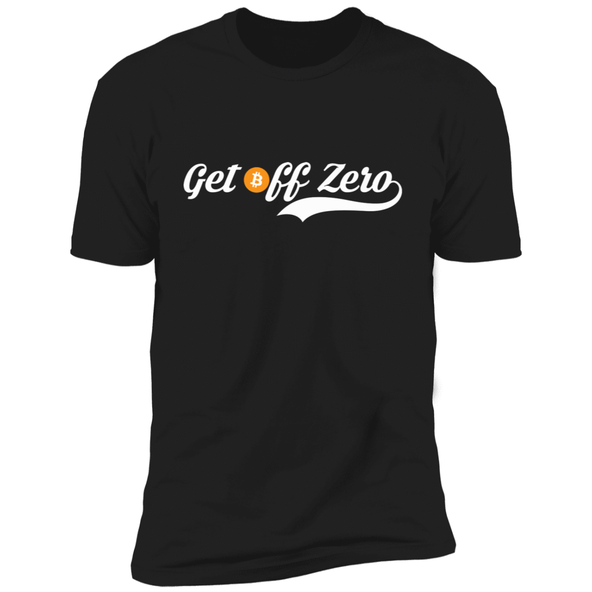 T-Shirts Black / X-Small Get Off Zero T-Shirt