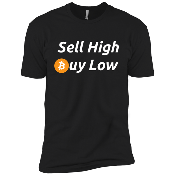 T-Shirts Black / X-Small Sell High Buy Low T-Shirt