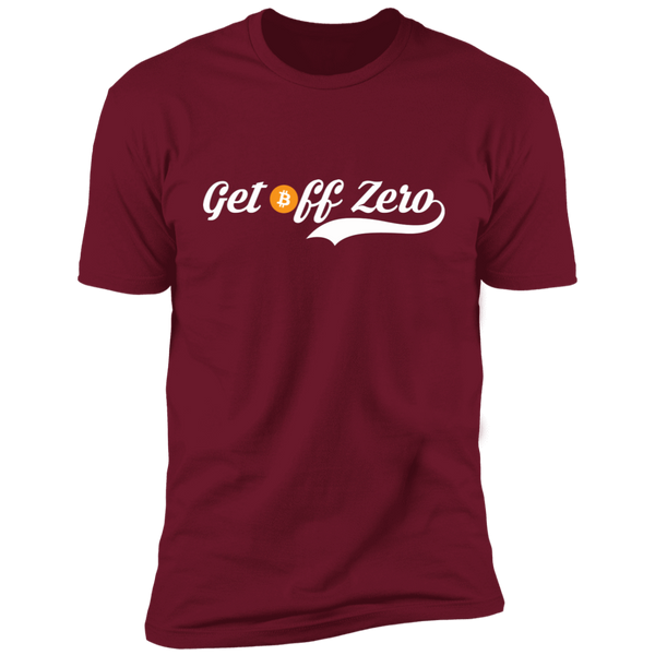 T-Shirts Cardinal / X-Small Get Off Zero T-Shirt