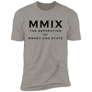 T-Shirts Light Grey / X-Small The Separation Of Money And State T-Shirt