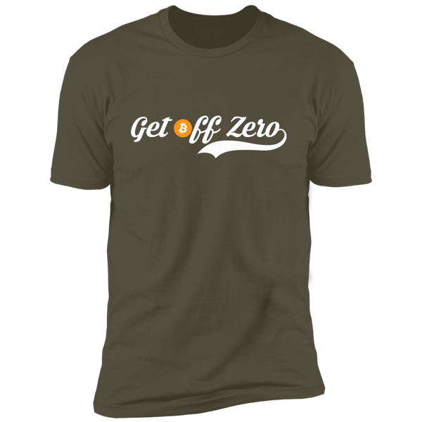 T-Shirts Military Green / X-Small Get Off Zero T-Shirt