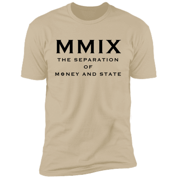 T-Shirts Sand / X-Small The Separation Of Money And State T-Shirt
