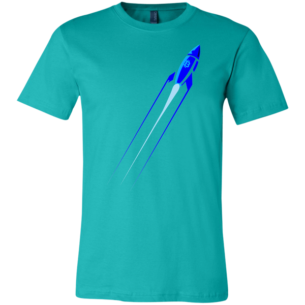 T-Shirts Teal / X-Small Rocket Blast Off T-Shirt