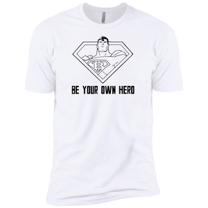 T-Shirts White / X-Small Be Your Own Hero T-Shirt