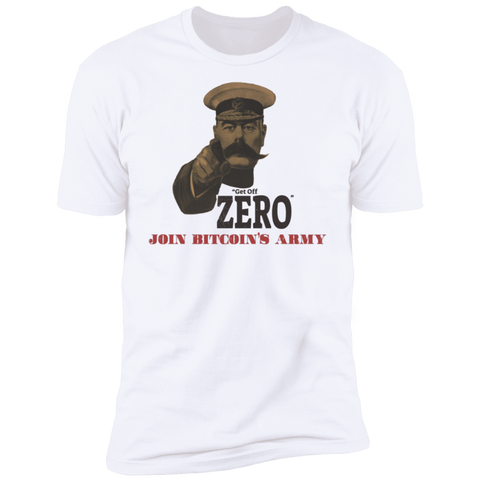 T-Shirts White / X-Small Get Off Zero T-Shirt