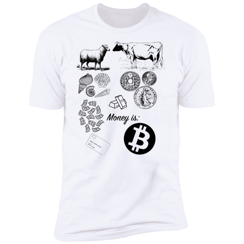 T-Shirts White / X-Small The Evolution Of Money T-Shirt