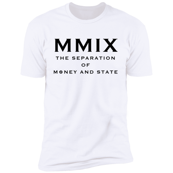 T-Shirts White / X-Small The Separation Of Money And State T-Shirt
