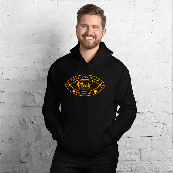 In Blockchain We Trust Unisex Hoodie