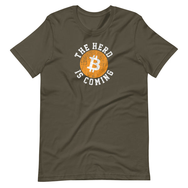 Vintage The Herd Is Coming Unisex T-Shirt