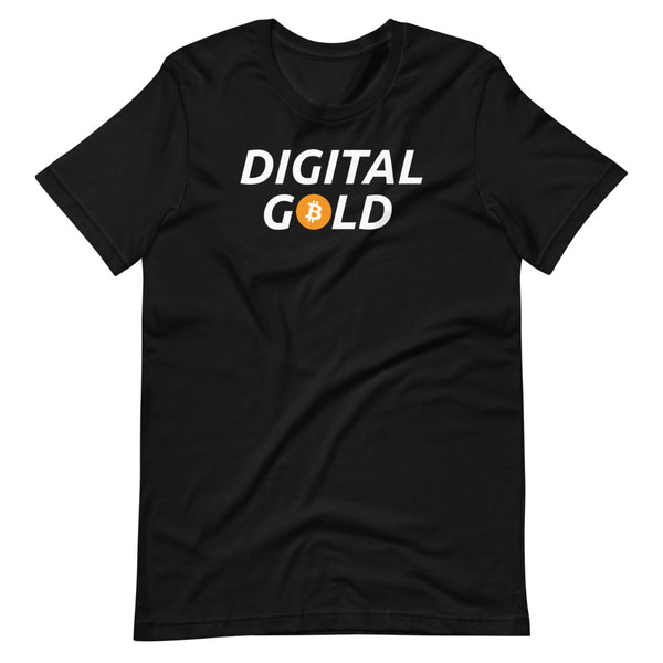 Digital Gold Unisex Bitcoin T-Shirt
