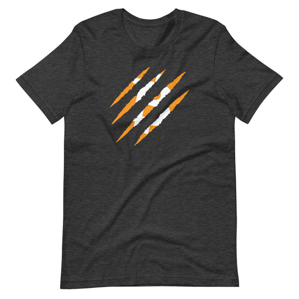 BTC Tiger Claw Unisex Bitcoin T-Shirt