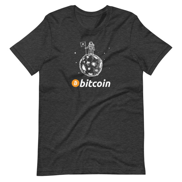 Bitcoin To The Moon Unisex T-Shirt - Bitcoin shirt - Bitcoin Merch