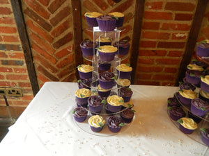 Cake stand 5 tier round cupcake Birthday & Celebration.