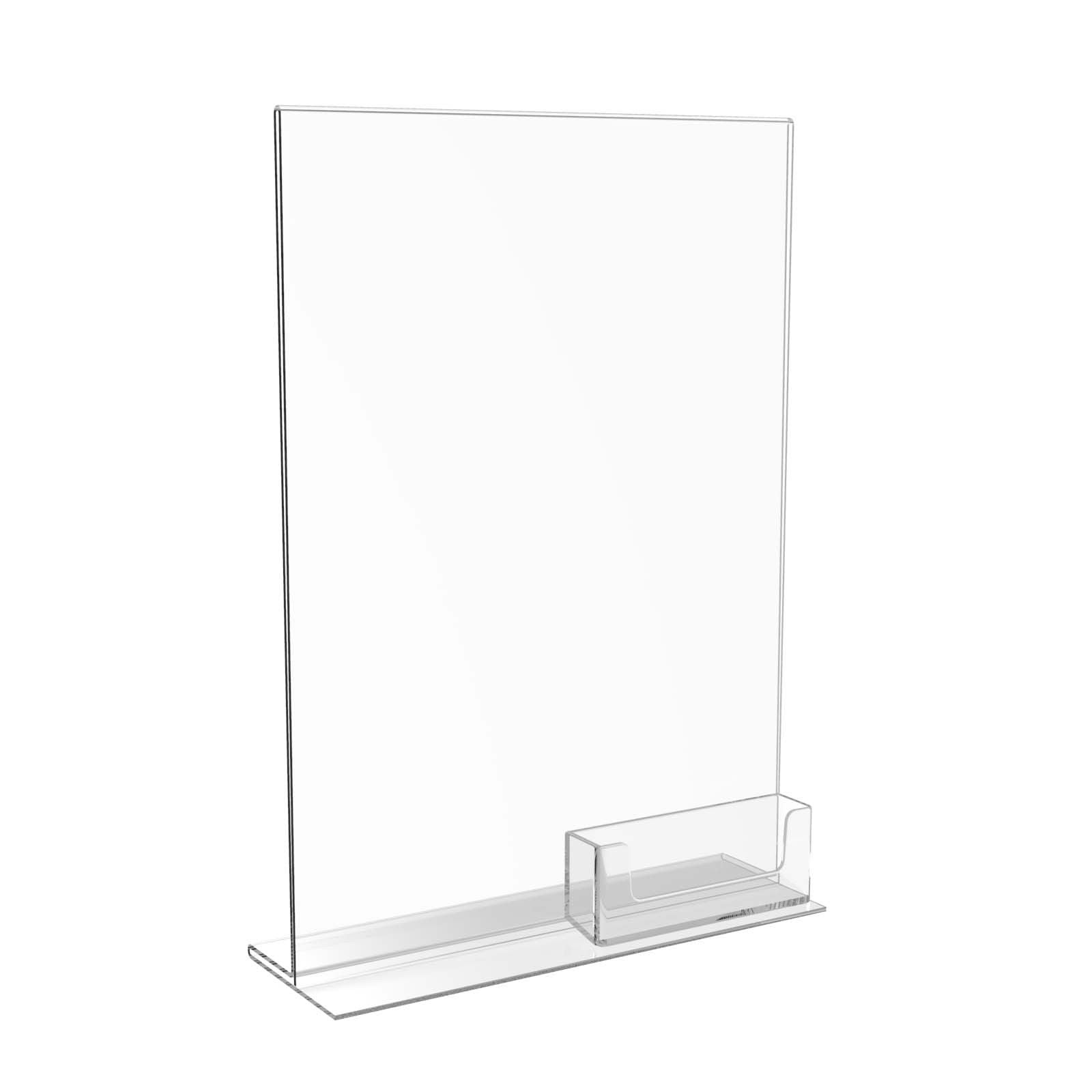 Poster holder A4 Menu Poster Holders Acrylic Perspex Display Stands ...