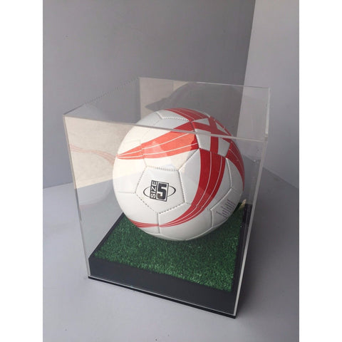 Display Case Football personalised