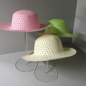 Hat stand set of 3 sizes 300, 250, 200mm tall