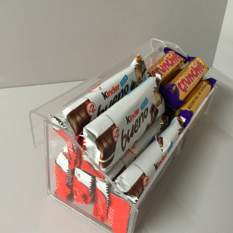 Confectionery, Chocolate bar ,Crisps, Condiment etc. hook over/parasite unit ( impulse buys)