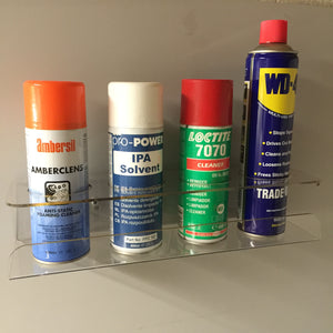 Storage Aerosol wall mounted Holder tidy storage