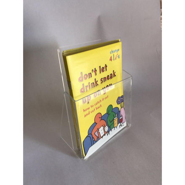 Leaflet holders counter displays A4, A5, A6, 3RD A4