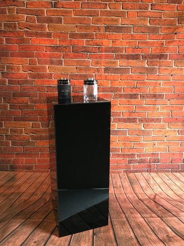 Podium plinths Black Acrylic displays