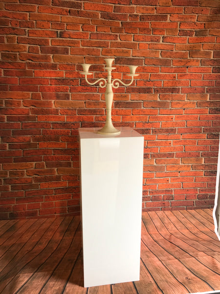 Podium plinths white Acrylic displays
