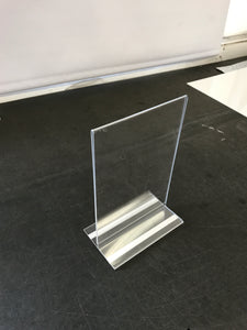 Poster holder Point Of Sale with self adhesive tape